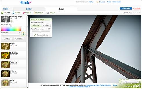 Picnik en Flickr