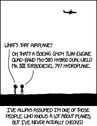 Aerotrastornados en XKCD
