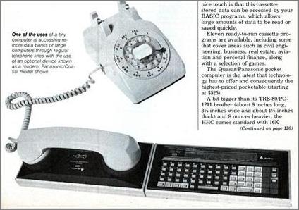 Quasar de Panasonic (1982)