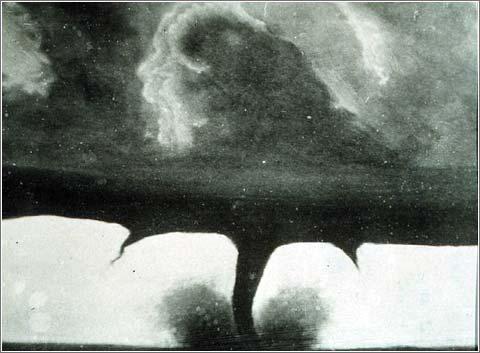Primera Foto Tornado