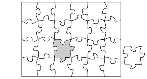 Puzzle en blanco / GameDesign