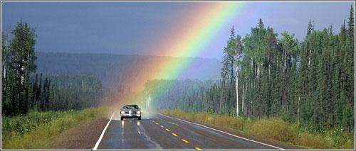 Rainbow Car en National Geographic