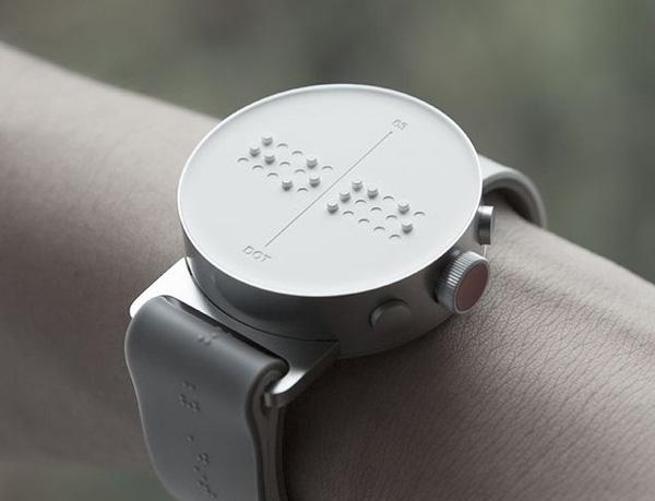 Reloj pulsera dor braille