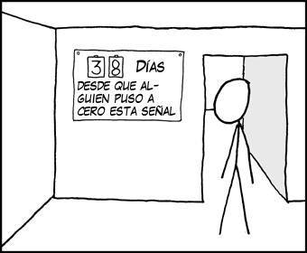 Reset / Poner a cero (CC) xkcd