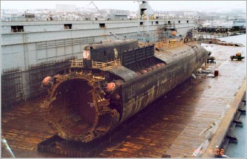 Restos del Submarino Kursk