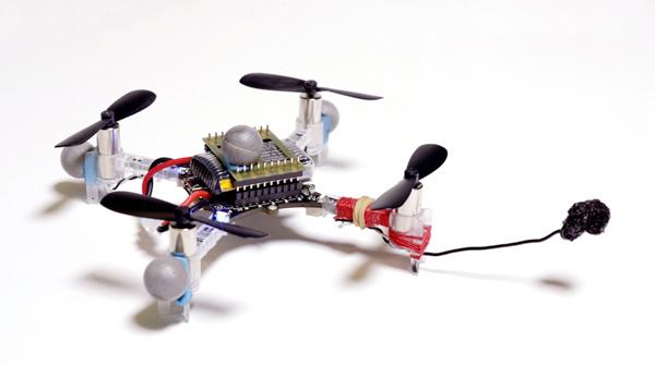 Un dron pintando el retrato de Grace Kelly