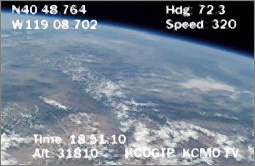 Rocket Mavericks a 30000 metros de altura
