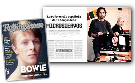 Nacho, Alvy y Wicho (que como vive en otra ciudad, salió en la pantalla del iMac). Foto: Luis Rubio para Rolling Stone