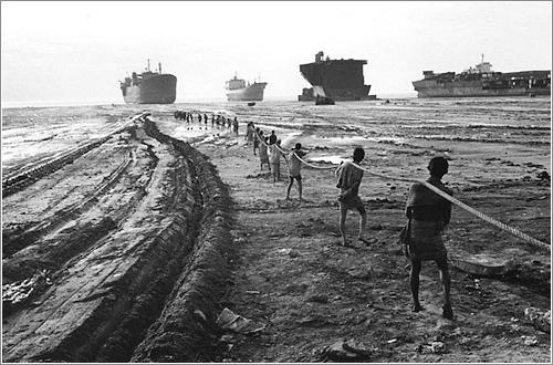 Rompebarcos en Bangladesh