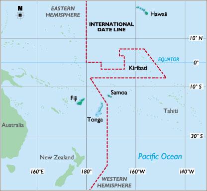 Samoa-Timezone