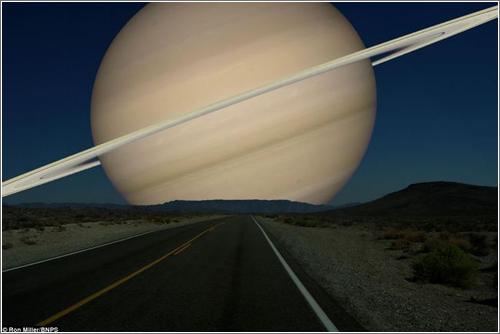 Cómo se verían desde la Tierra los planetas si estuvieran tan cerca como la Luna