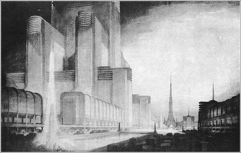 Science City: Hugh Ferriss