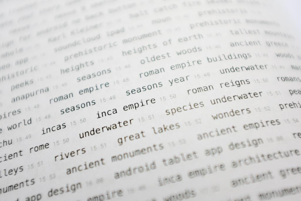 Cómo convertir tu historial de búsquedas en Google en un libro