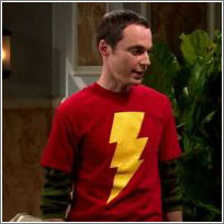 Sheldon + Shazam
