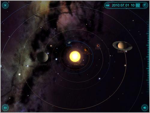 Solar Walk: un paseo por el sistema solar en el iPad