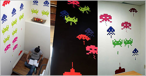 Space Invaders Decals-1