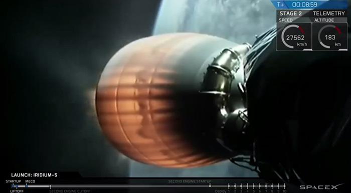 Spacex iridum5 webcast
