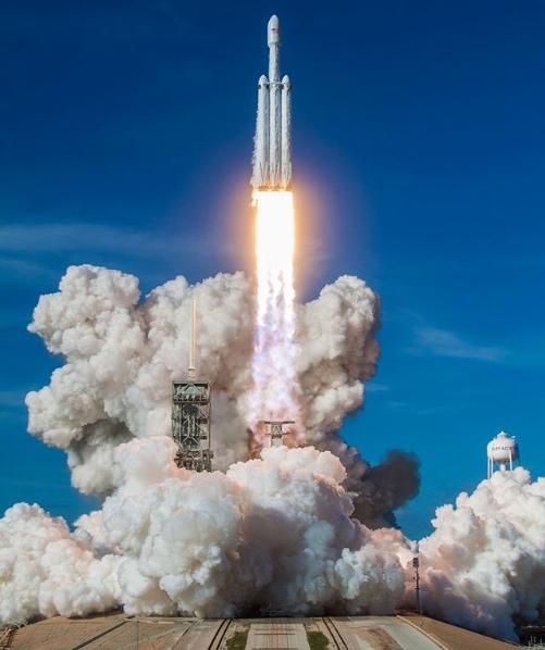 Spacex lanzallamas