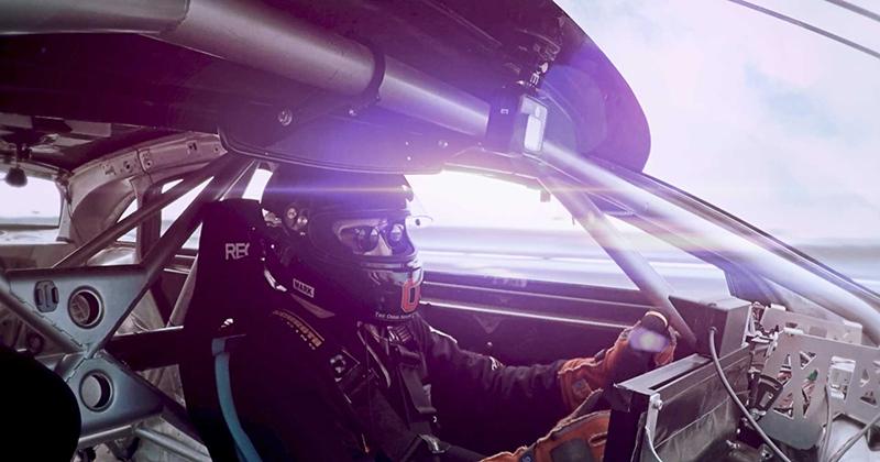 Speed car driver