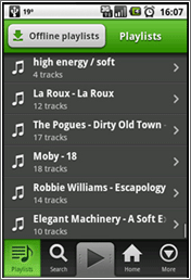 Spotify para Android y iPhone