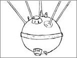 Dibujo del Sputnik + Camera