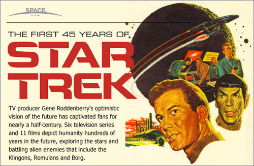 The Evolution of Star Trek / 45º Aniversario