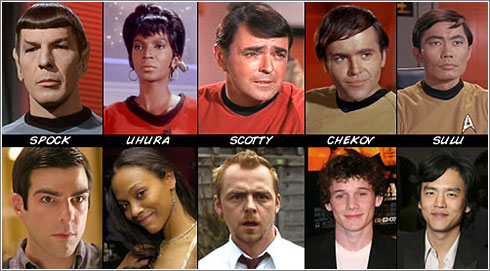 Star Trek XI: las nuevas caras