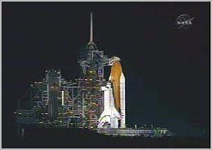 Discovery en la plataforma 39B, a las 00:14am GMT+1