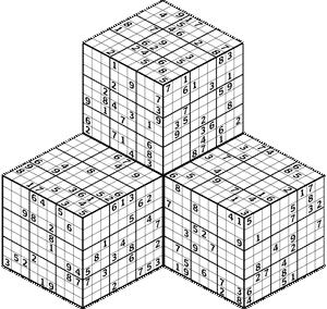 Sudoku 3-D