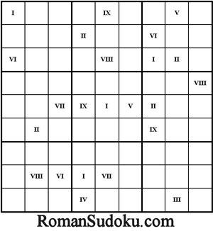Sudoku-Romano