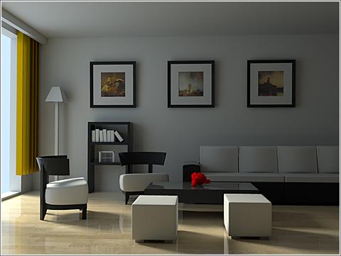 Living Room 2 / Renderer Challenge