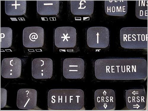 C64 Keyboard (CC) Axel Tregoning