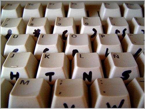 Dvorak Keyboard Layaout (CC) Julián Rodríguez @ Flickr