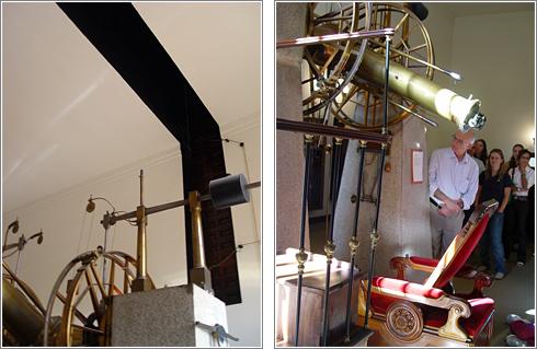 Telescopio Meridiano en el Observatorio (CC) Alvy