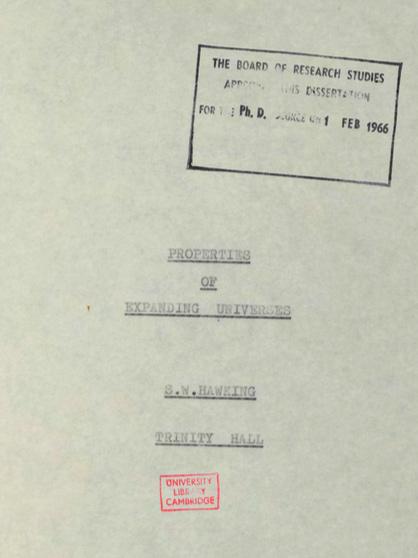 Tesis hawking 1966 2