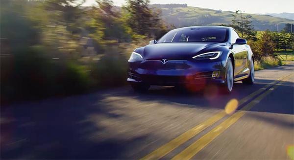 Tesla drive test bolsa market cap