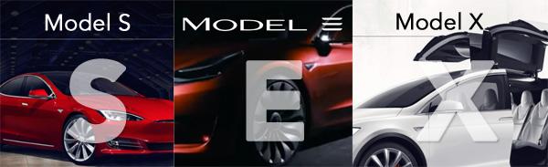 Los Modelos S-E-X-Y de Tesla