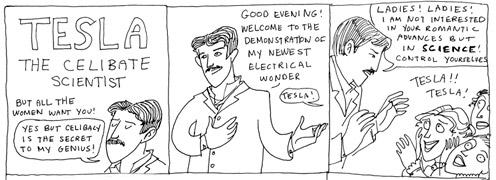 Tesla (C)  K. Beaton