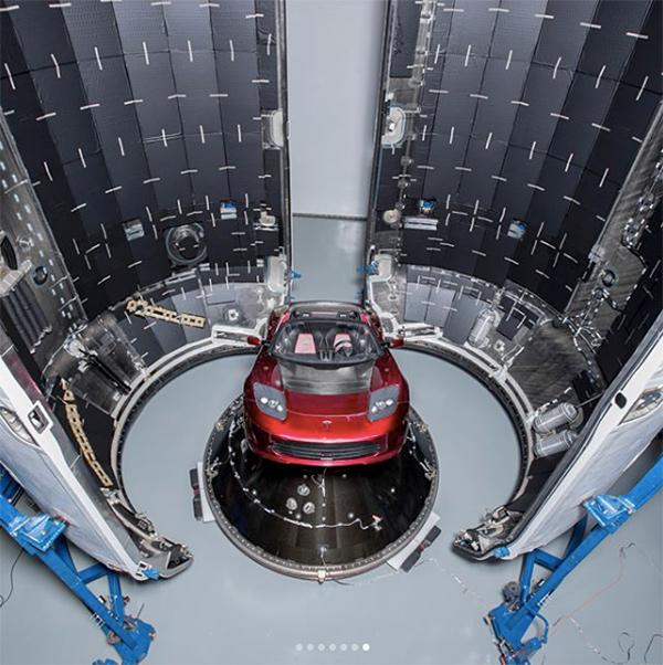 Teslas roadster musk marte 1