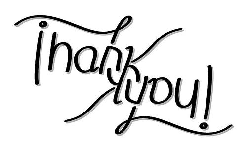 Ambigrama Thank You (Amafirlian)