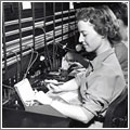 Operadora de teléfono (1960) / SaksTel