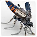 LockWasher Design, más robotijos y cacharros hechos con trastos encontrados