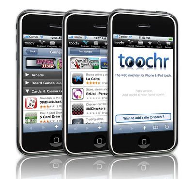 Toochr Desktop para iPhone y iPod Touch