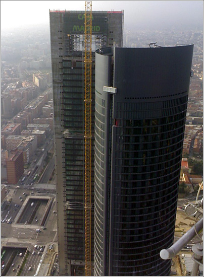 Torre Cristal, Madrid. Foto: Pacocp