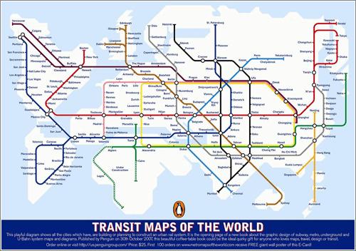 Rail Transit Map
