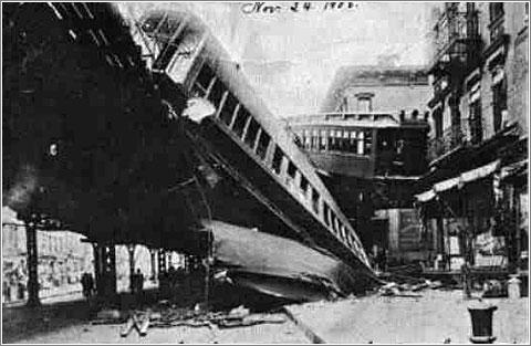 Desacarrilamiento de dos trenes, 1905