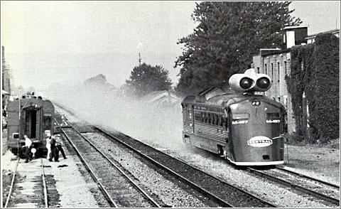 Tren a reaccion M-497-I