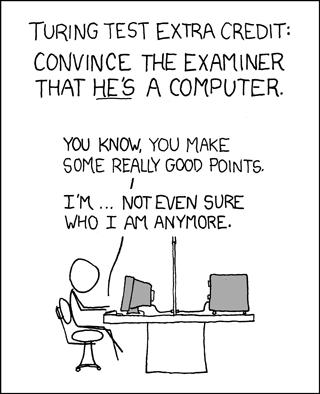 Test de Turing por XKCD