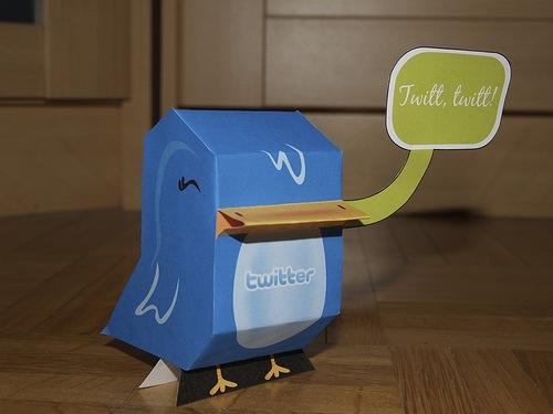 Plantilla Twitter Bird