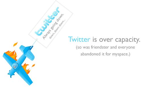 Twitter Siempre caído